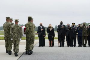 Biden pays respects to US troops killed in Afghanistan