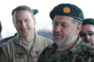 Afghan defence minister says President Ghani sold his homeland