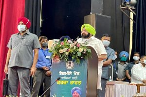 Standing on prestige, Centre not listening to farmers on farm laws : Amarinder
