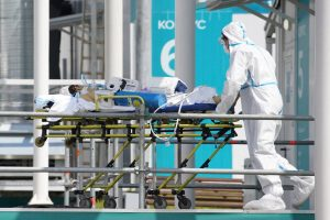 Russia reports record Covid-affected daily deaths