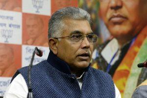 Dilip opposes 'separatist' tag on Barla for N. Bengal UT demand