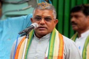 TMC lands in Tripura to unleash terror, says Dilip