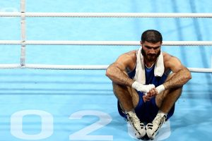 Olympics' Zidane moment: French boxer disqualified for headbutt