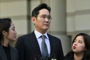 Samsung scion set free on parole, protest erupts