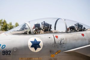 IAF chief flies Israeli F-15 fighter jet; visits 'Yad Vashem' memorial