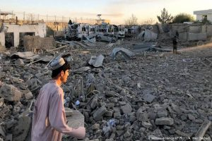 Hospital bombed in southern Afghanistan as battles rage
