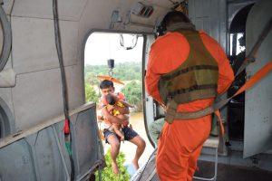 Dams swamp villages, IAF joins rescue work