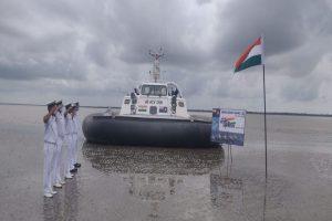 ICG hoists Indian flag in remote islands of Bengal & Odisha