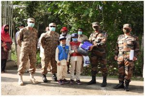 Exhibiting finest traditions, Indian Army repatriates 3 children to POJK