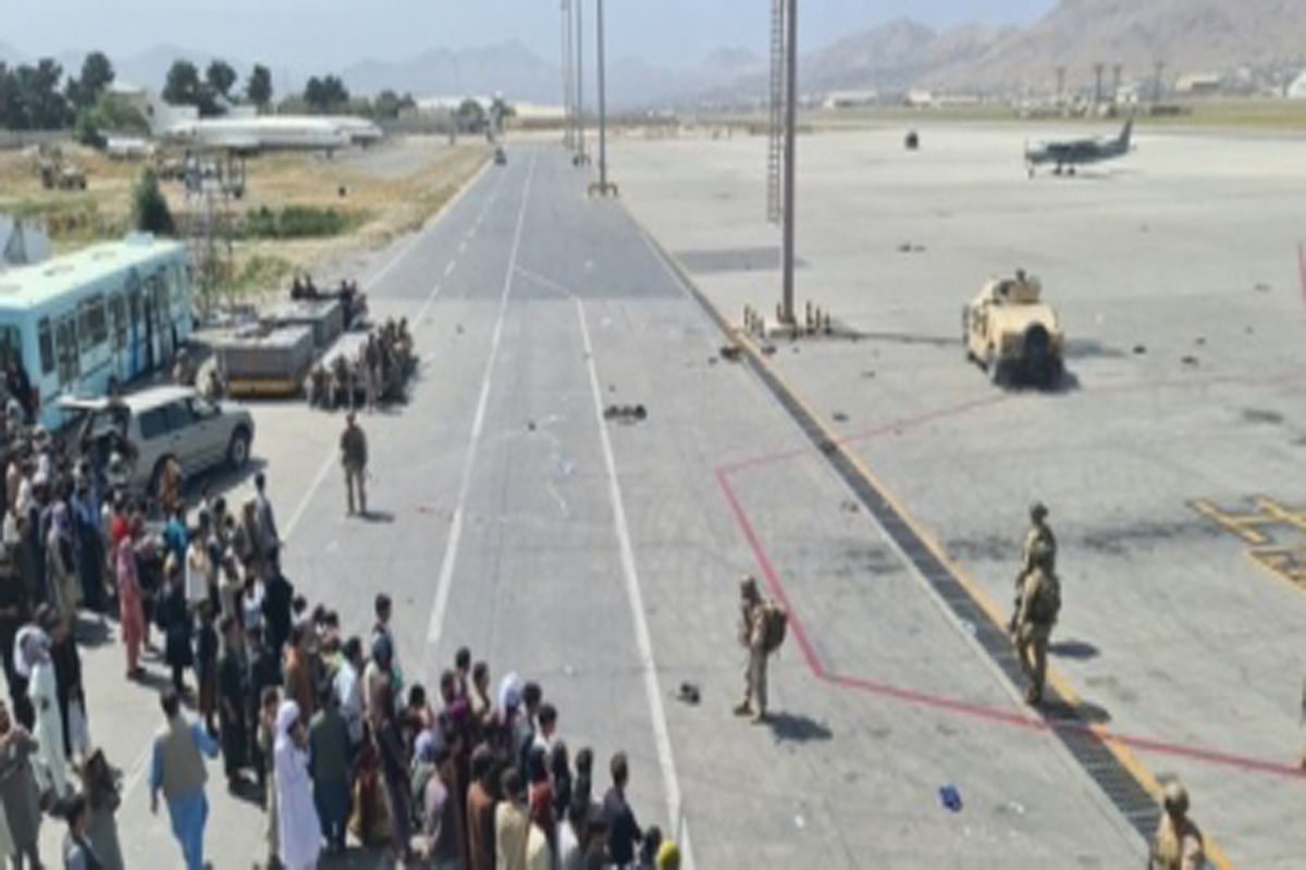 Americans, warned, Islamic State, Kabul airport