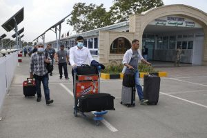 Afghan leaders arrive in Pak after Taliban captures Kabul