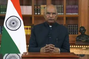 One Crore-Plus vaccinations in single day achieved due to the Nursing Personnel: President Kovind