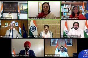 Ministry of Tourism celebrates Azadi Ka Amrit Mahotsav- India@75