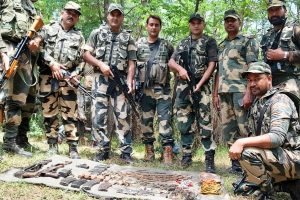 Terror strike around I-Day foiled as AK47 rifles, Chinese grenades seized from LOC area