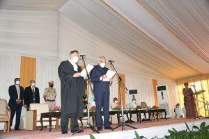 Banwarilal Purohit sworn in as 36th Governor of Punjab