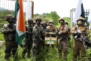 Indian Army, BSF exchange sweets with Pakistani counterparts