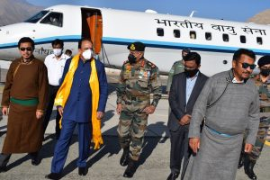 MoS Defence takes stock of situation in eastern Ladakh
