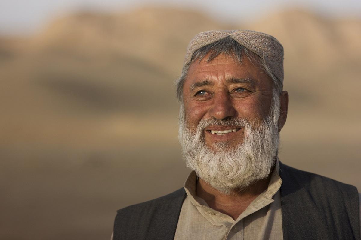 wise Afghan, San Clemente, California, Mehron Sharq