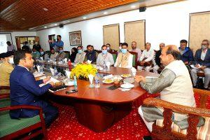 Gram Panchayats, other local bodies' representatives demand security during Om Birla's visit to J-K