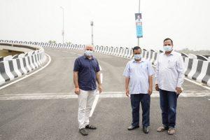 Arvind Kejriwal inaugurates 'Cloverleaf', ramps and service roads developed on Mayur Vihar Phase-1 Flyover