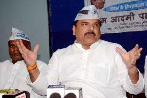BJP MLA lodges FIR against AAP's Sanjay Singh