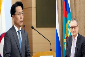 South Korea, Russia discuss peninsula peace process