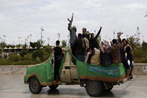 Battle rages in Yemen's al-Bayda province