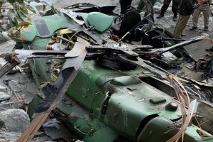 Army helicopter crashes in J&K's Kathua, no loss of life