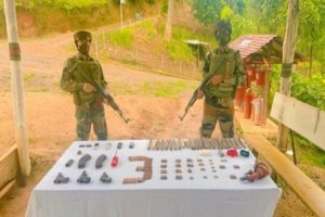 Mizoram: Assam Rifles seized arms and foreign cigarettes worth Rs 6.53 cr