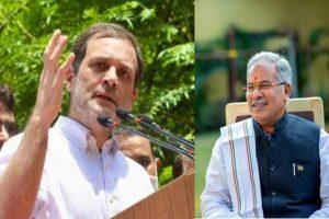 Baghel, Deo meet Rahul Gandhi amid rift in Chhattisgarh Congress