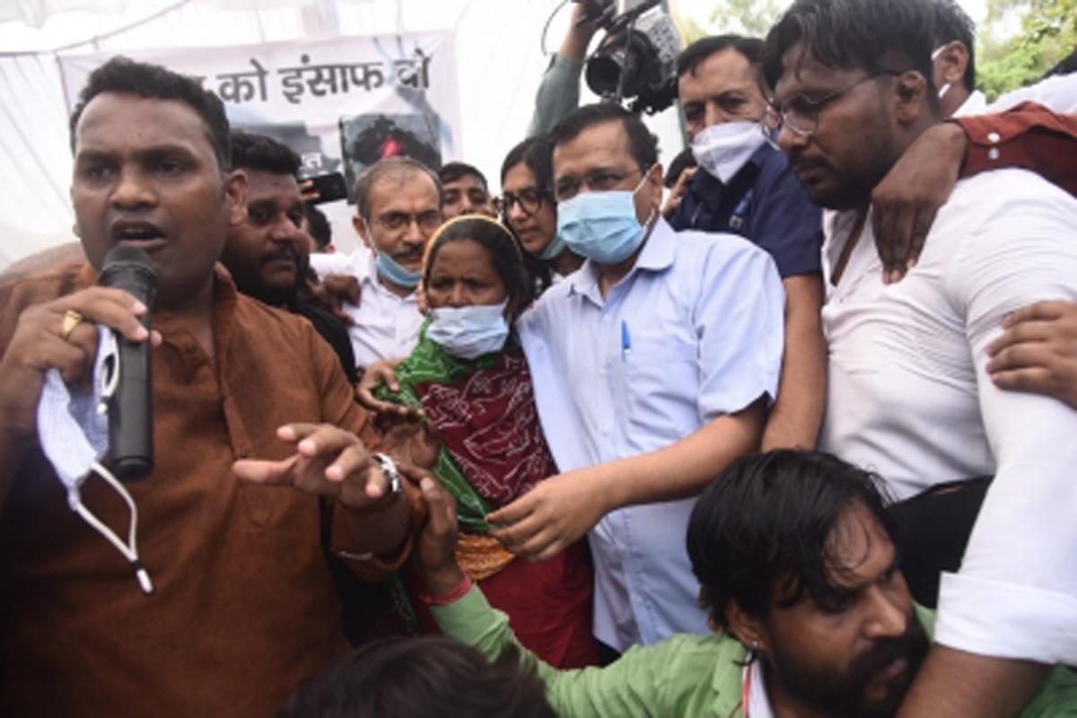 Arvind Kejriwal, alleged rape & murder case, financial assistance