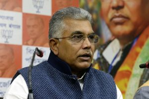 Dilip Ghosh makes 'U' turn, says not in favour of division of Bengal
