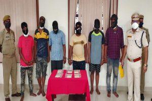 Rs 1.10 crore brown sugar seized in Odisha: Six arrested