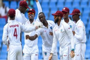 West Indies names 13-man squad for the first Test against Pakistan