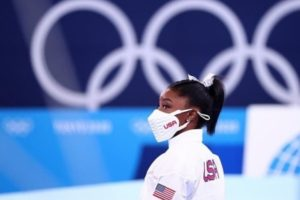 Gymnast Simone Biles pulls out of Monday's floor exercise final