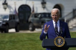 Biden's approval rating dips below 50% for 1st time