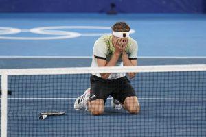 Zverev wins tennis gold for Germany