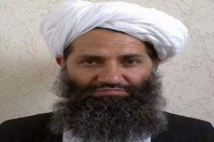Taliban's supreme leader shows up in Kandahar