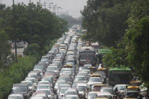 Delhi's roads see heavy traffic on Raksha Bandhan