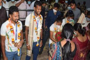 Odisha welcomes four Olympics hockey players