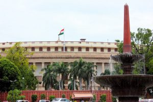 Opposition members protest introduction, passage of bills amid din in LS