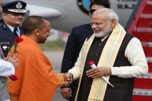 Modi-Yogi an 'unparalleled jodi': Rajnath Singh