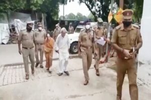 UP Police rescue elderly couple from son, daughter-in-law