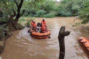 Floods wreak havoc in north MP, thousands marooned