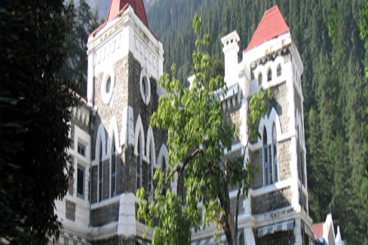 High Court, Uttarakhand, E-court vans