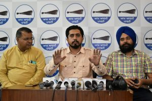 Cong govt's employment programme a cruel joke with Punjab youth: AAP