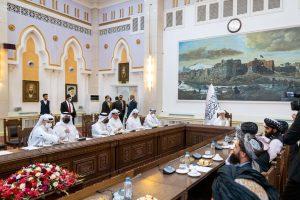 Qatar FM in Kabul, meets Taliban leadership