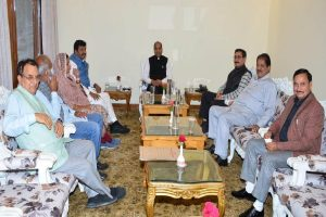 President Kovind's HP visit: CM holds all party meet