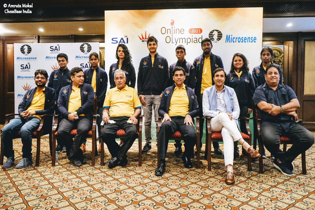 Olympiad, Online Chess, India, USA