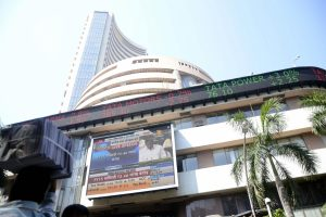 Sensex falls over 475 points but few stocks gain over 10% on BSE